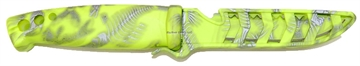 """Picture of Evolution 4"""" Bait Knife Chartreuse Reaper"""