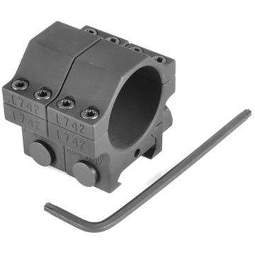 "Picture of Evolution Gun Works HD 30Mm Tactical Aluminum Rings .850"" Matte Black"