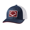 Picture of Evoshield Rank Flexfit Hat-Navy/White L/Xl