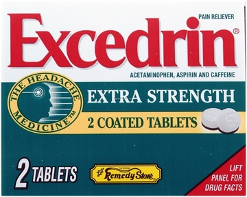 Picture of Excedrin Extra Strength Pain Refief - Single Dose