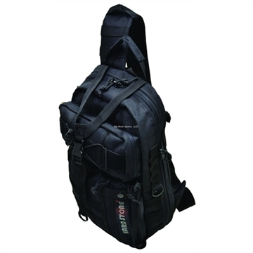 Picture of Explorer 17 Inches Tactical Concealed Carry Sling Backpack Black
