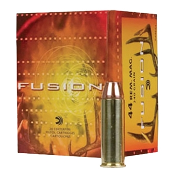 Picture of Federal F500fs2 Fusion  500 Smith & Wesson Magnum 325 GR Fusion Soft Point 20 Bx/ 10 CS