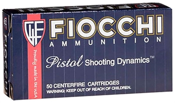 Picture of Fiocchi Special Buy 9X21 123 GR Full Metal Jacket 50 Bx/ 20 CS