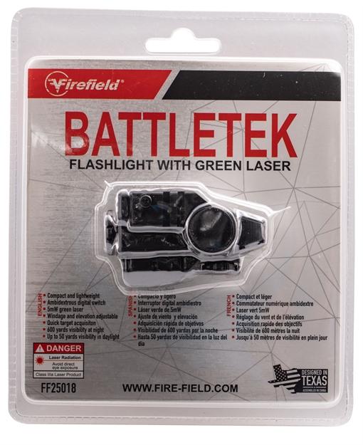 Picture of Firefield Battletek Weapon Light With Green Laser