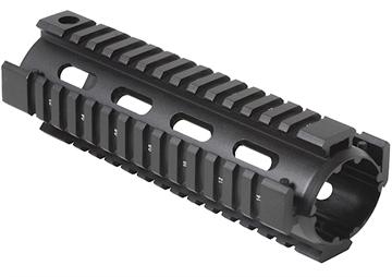 "Picture of Firefield Ff34001b Quad Rail M4 6"" Aluminum Black"