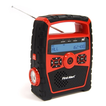 Picture of First Alert Portable Am/Fm Weather Clock Radio W/Alert