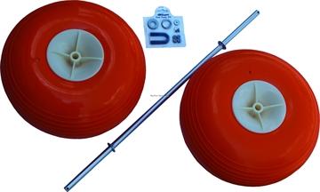 "Picture of Fish-N-Mate 15"" Poly Wheel SR & JR Cart Kits"