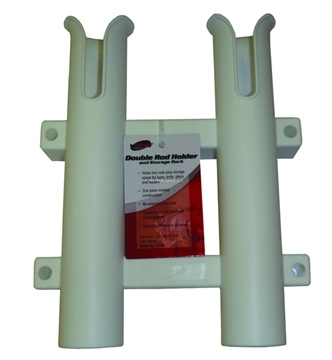 Picture of Fish-On Double Rod Holder White