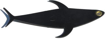"Picture of Fish Razr 12"" Flapz, 3 Pack OF 12"" Dredge Tuna- Black"