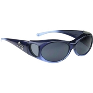 Picture of Fitovers Eyewear Aurora Claret/Gray Glasses