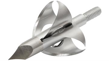 """Picture of Flying Arrow Arrow Broadhead Toxic 100Gr 7/8"""" Cut 3/Pk Silver"""