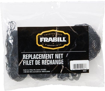 "Picture of Frabill 14""X15"" Black Poly Replacement Net"