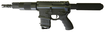 "Picture of Franklin 3094Ca Salus *Ca Appr* AR Pistol SA 5.56 Nato 7.5"" 1Rd Syn Grip Blk"