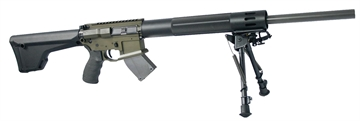 "Picture of Franklin Armory 1195 F17-L Standard Semi-Automatic 17 Winchester Super Magnum (Wsm) 20"" 10+1 Magpul Moe Rifle Stock Black Stock OD Green/Black"