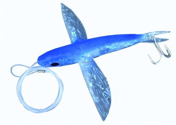 """Picture of Frenzy Ballistic Flyer Rigged Flying Fish, 6"""", Blue"""