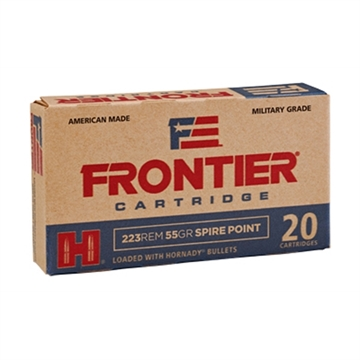 Picture of Frontier 223Rem 55Gr Spire 20/500