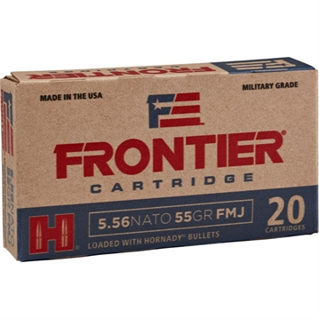 Picture of Frontier Ammo 5.56 Nato 62Gr SP 150Bx,4Bx/Cs