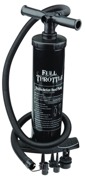 Picture of Full Throttle 2 Hand Air Pump Double Action Univ Adaptors