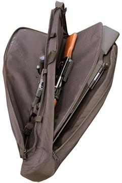 """Picture of Galati Gear 4208Dbl Double Rifle Case 42"""" Cordura Black"""
