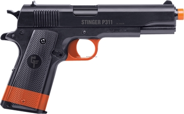 Picture of Game Face Stinger P311 (California Compliant) - Spring Powered, Single Shot Military Style Pistol, 325 Fps