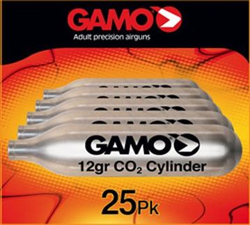Picture of Gamo 25 Cnt C02 Cartridges