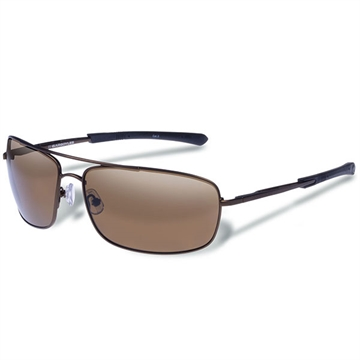 Picture of Gargoyles Barricade Polarized Sunglasses Matte Brown/Brown