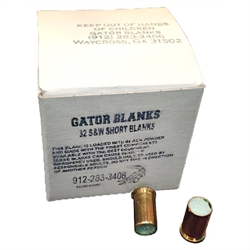 Picture of Gator Blanks Blackpowder Blanks .32Sw 50-Pack