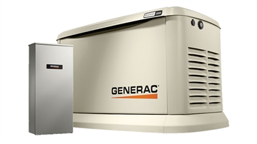 Picture of Generac Power Systems 22/19.5 KW Air-Cooled Stand
