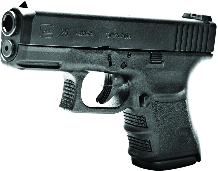 Glock G29 Sf Short Frame Semi Auto Pistol 10mm Pf2950201 10mm