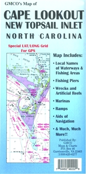 Picture of Gmco Cape Lookout Map Gps/Folded