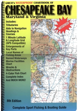 Picture of Gmco Chartbook For Chesapeake Gps/Loran Waterproof