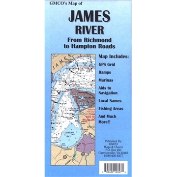 Picture of Gmco James River Map Gps/Folded