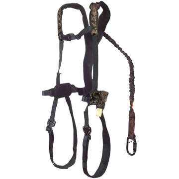 Picture of Gorilla Treestands Safety Harness G-Tac Air W/Flex-Fit Mens Black<