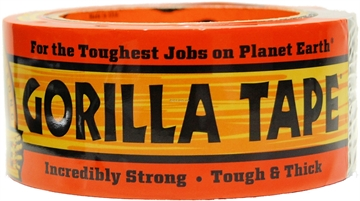 "Picture of Gorilla Treestands Tape 1.88""X12yds Black"