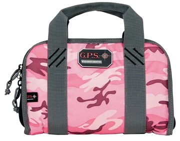 Picture of G*Outdoors 1106Pcpk Pistol Case Double Compact Case Pistol Bag Pink