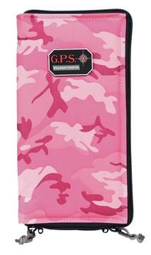 "Picture of G*Outdoors 865Pspk Pistol Sleeve Medium Pistol Sleeve Pistol Sleeve 5"" X 8"" X 1.5"" Pink"