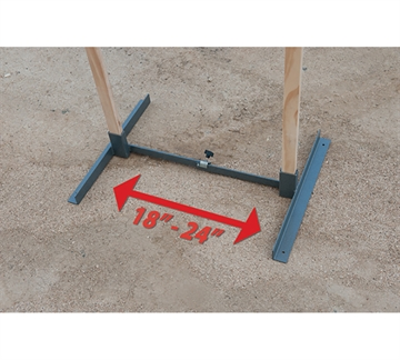 """Picture of G.P.S. Metal Target Stands 18-24"""""""