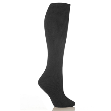 Picture of Grabber Heat Holders Ladies Long Leg Sock-Charcoal-Size 5-9