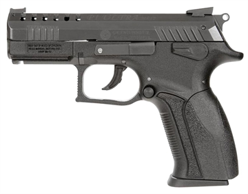 """Picture of Grand Power Gpp11d P11 Mk12 Single/Double 9Mm Luger 3.3"""" 12+1 Black Polymer Grip Black"""