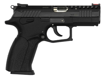 """Picture of Grand Power Gpp1ultra P1 Ultra Single/Double 9Mm Luger 3.7"""" 15+1 Black Polymer Grip Black"""