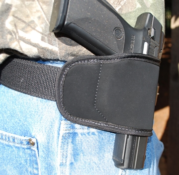 Picture of Grotec Multi-Fit Holster RH Mrd/Lg Autos Black Belt Slide