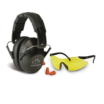 Picture of Gsm Walkers Pro-Low Profile Folding Muff/Glasses/Plugs Combo