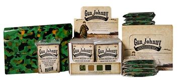 """Picture of Gun Johnny Gj262 Disposable Waterproof Gun Bag Treated Plastic 12""""X70"""" Black"""