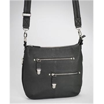 Picture of Gun Totin' Mamas Chrome Zip Handbag,Bk