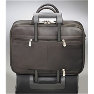 Picture of Gun Totin' Mamas Cowhide Briefcase,Expresso