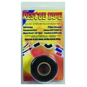 Picture of Rescue Tape Black Clamshell
