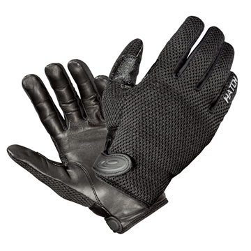 Picture of Hatch Cooltac Warm Weather Police Gloves Black Large