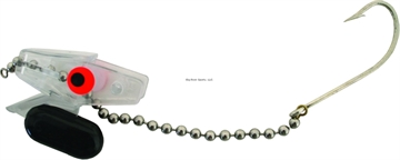 Picture of Head Start Diver Rigging System, 1 3/4 Oz, Clear, Floating, With Hook And Chain