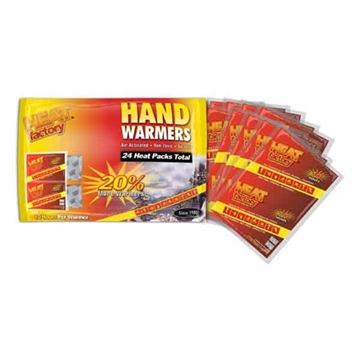 Picture of Heat Factory, Inc. Factory Hand Warmer Mini Family 24 Pack (12 Pair) 10Hr