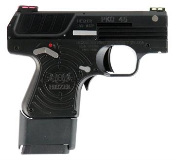 "Picture of Heizer Ckh45jtblk Pko 45 45 Automatic Colt Pistol (Acp) Single 2.75"" 5+1 Black Grip Black Stainless Steel Slide"